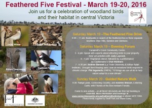 Feathered Five Festival Poster 2016